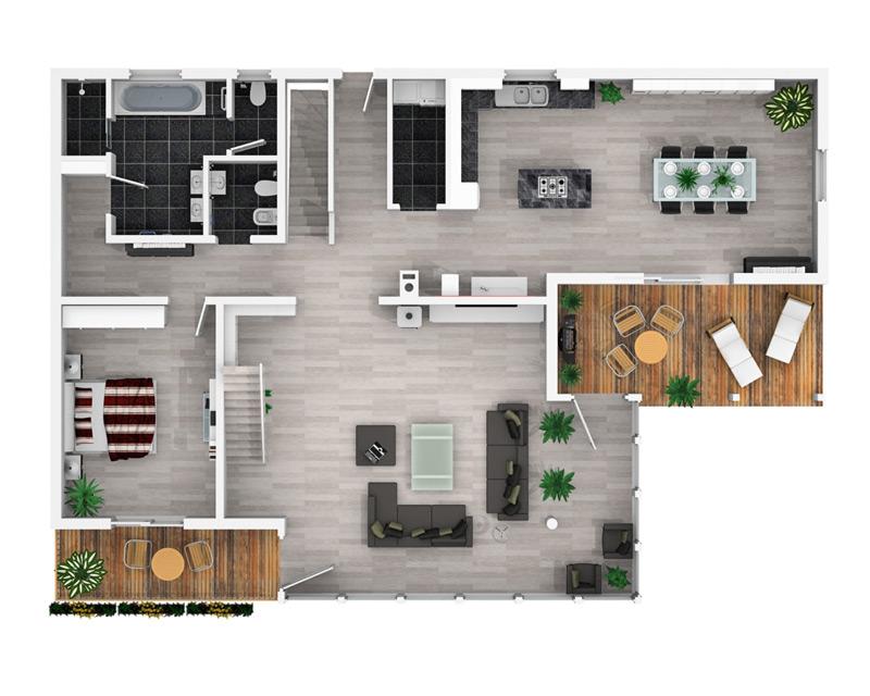 3D Floor Plan Design: STANDARD